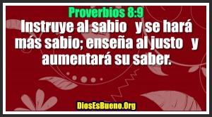Proverbios 8:9