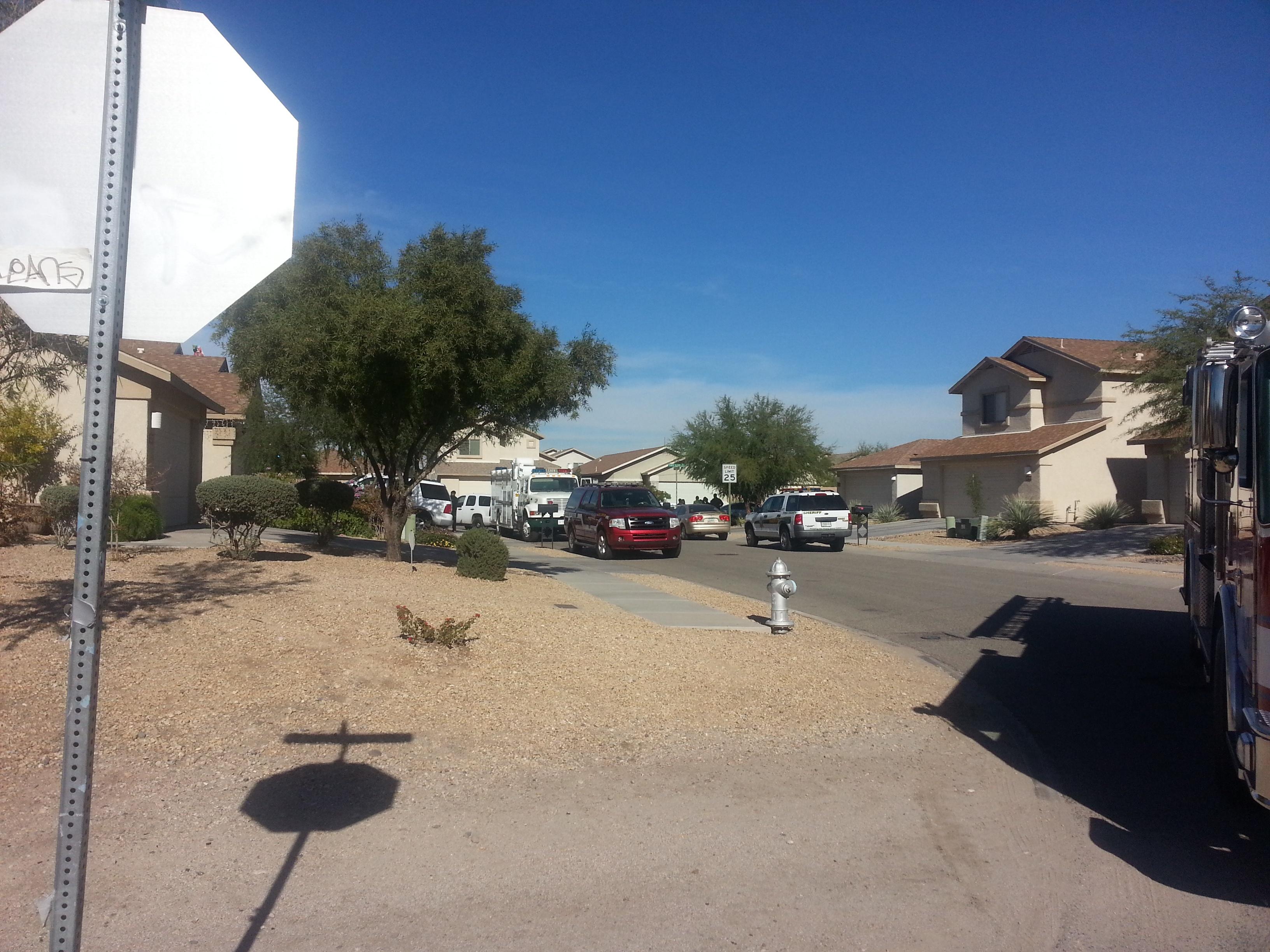 Standoff situation in Northwest Tucson, Arizona