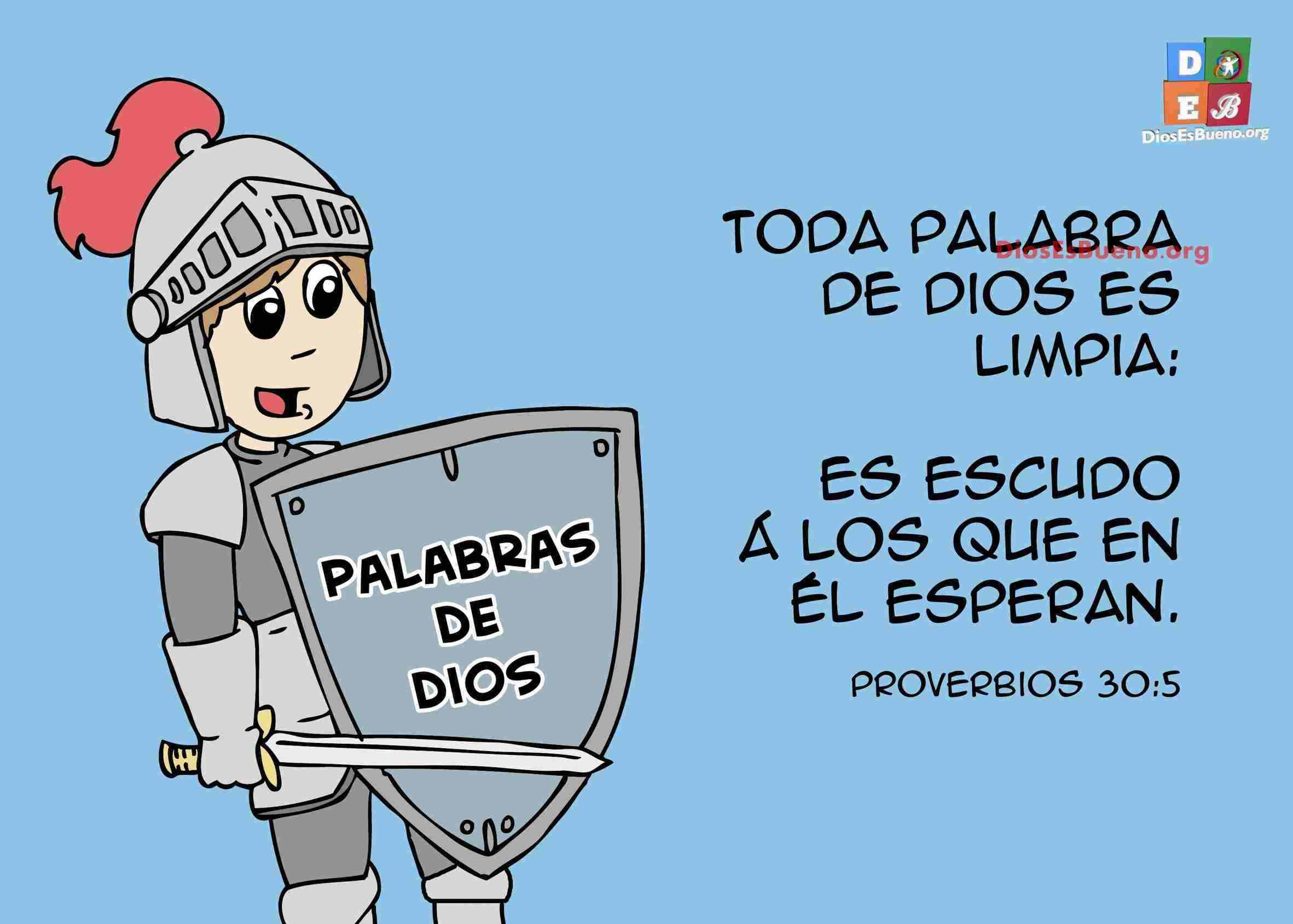 Proverbios 30-5