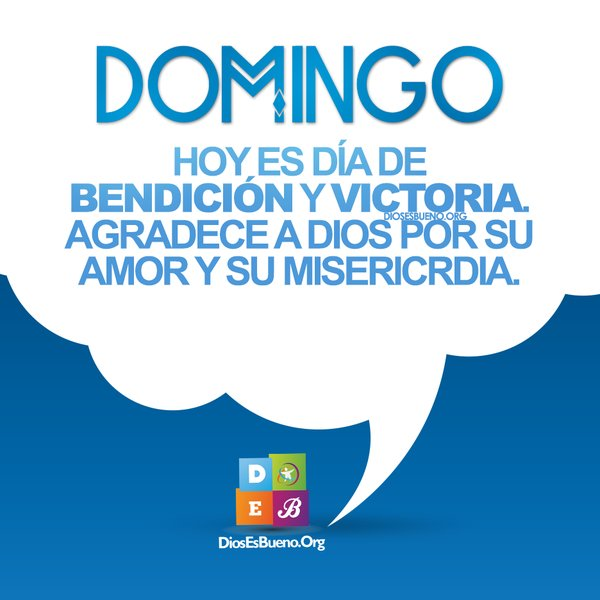 Domingo Bendicion y Victoria