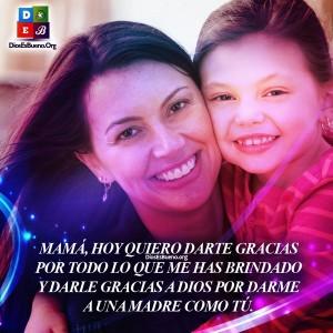Gracias Dios Por Una Madre Como Tu