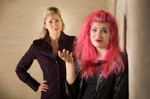 Punk Teen Ignoring Parent