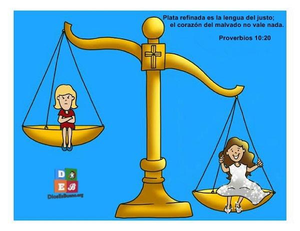 Plata refinada es la lengua del justo. Proverbios 10:20