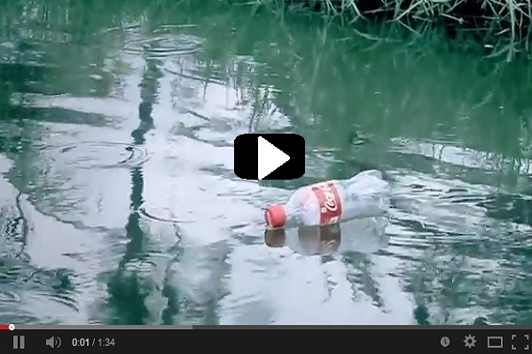 Como reciclar botellas de plastico VIDEO 3