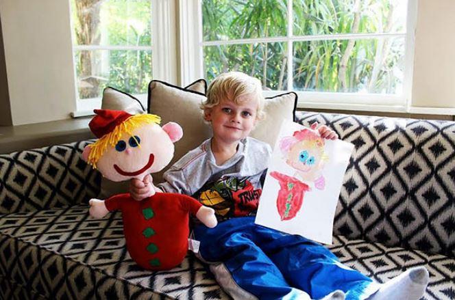 Convertir Sus Dibujos En Juguetes Es Justamente Lo Que Hace Esta Compañía Para Hacer Felices A Los Niños. ¡Simplemente Genial!