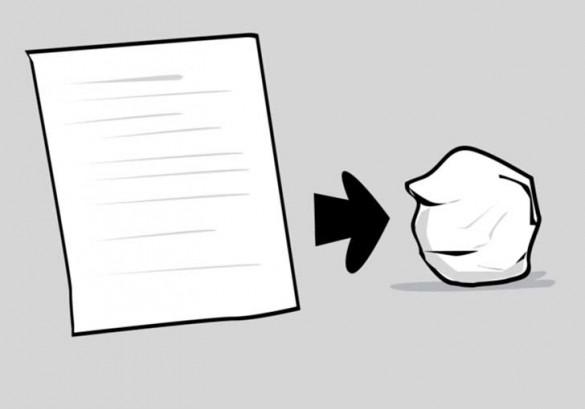 08, esperimento social, pelota de papel