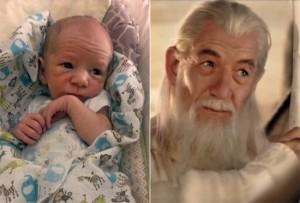 Bebes parecidos a famosos,Ian McKellan