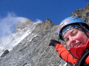 Casi llegando al refugio montaña Matterhorn