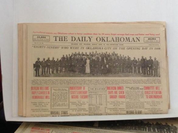 Diario de oklahoma 1913