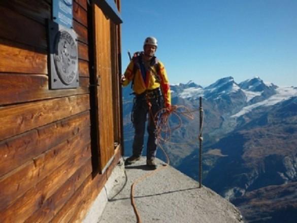 Hermosa vista montaña Matterhorn