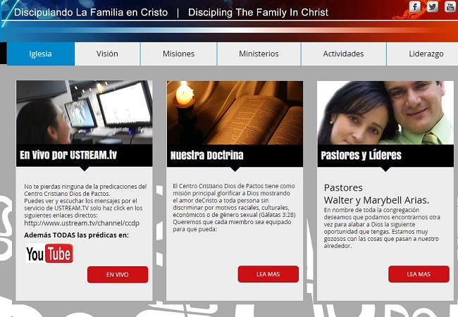 Centro Cristiano Dios De Pactos Kissimmee FL  Transmisión  en Vivo Cada Domingo