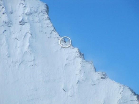 No es un punto es el refugio montaña Matterhorn