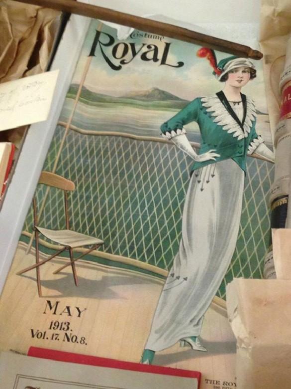 Revsita de moda 1913 cofre del siglo