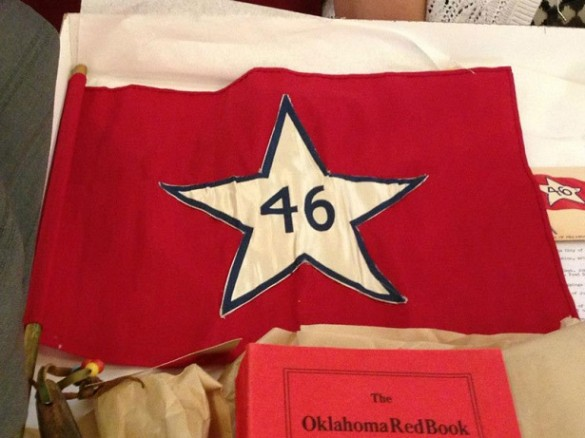 bandera de oklahoma 1913