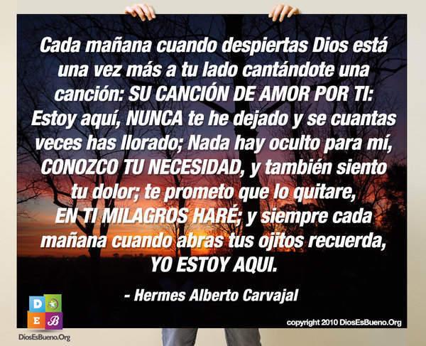 Cada Mañana Cuando Despiertas | Hermes Alberto Carvajal