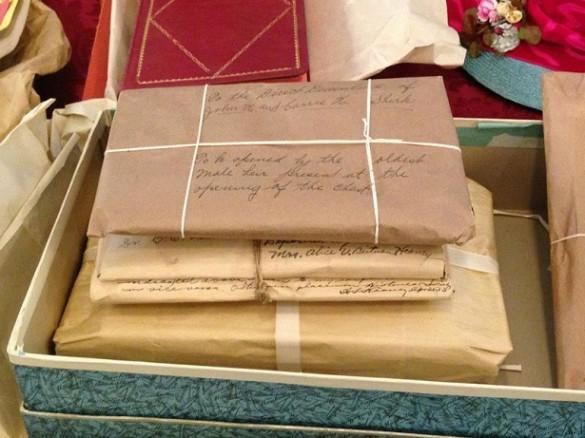 cartas cofre del siglo