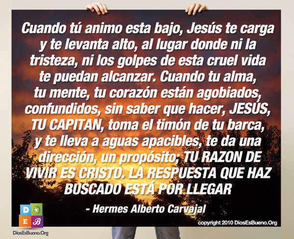 Cuando Tu Animo Esta Bajo | Hermes Alberto Carvajal