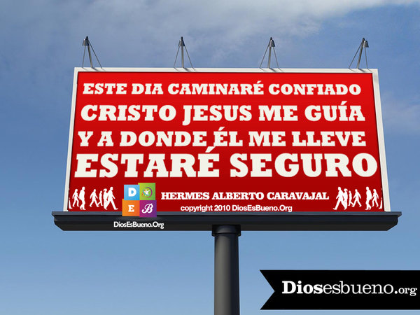 ESTE DIA CAMINARE CONFIADO | Hermes Alberto Carvajal