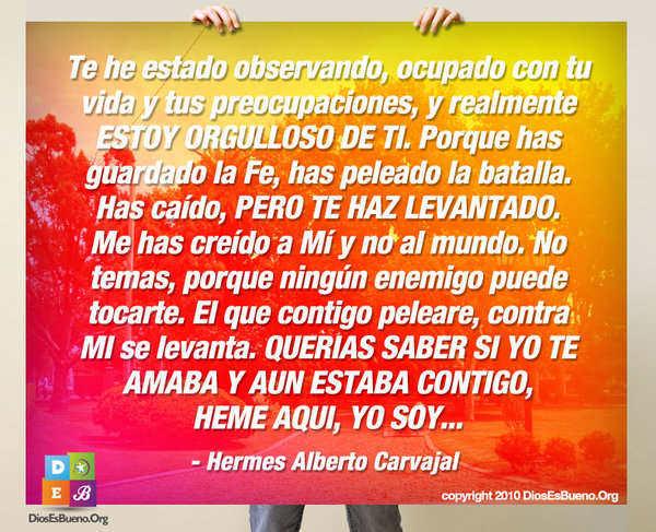 Te he estado observando | Hermes Alberto Carvajal