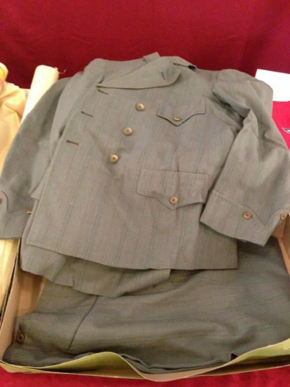 traje de hombre 1913 cofre del siglo
