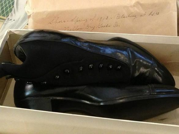 zapatos de mujer 1913 cofre del siglo