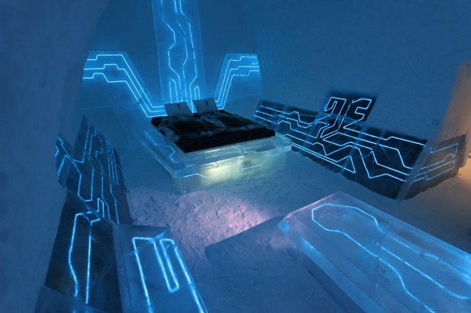 Lugares Increíbles – Hotel de Hielo (Ice Hotel)