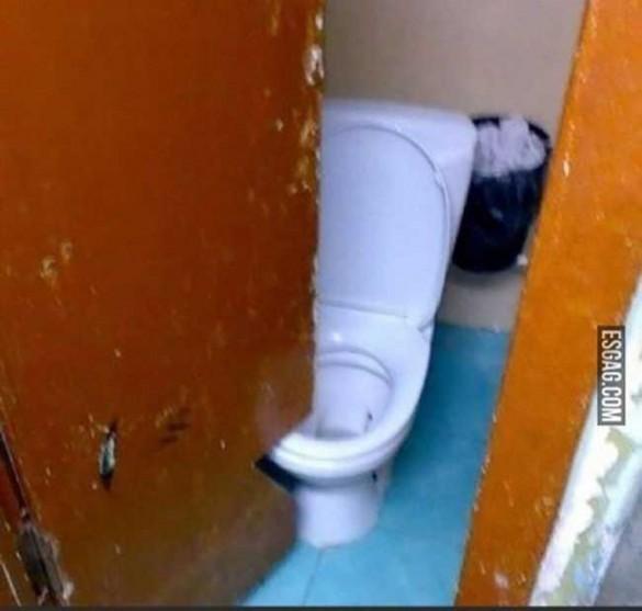 011 soluciones ingeniosas, puerta de baño con corte