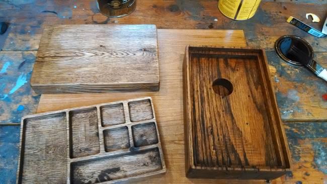 03 partes de la caja