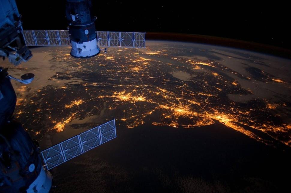 Mira como se ve la Tierra desde el espacio ¡IMPRESIONANTE!