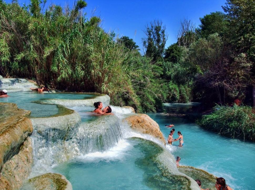 Cascada de Molino en Toscana