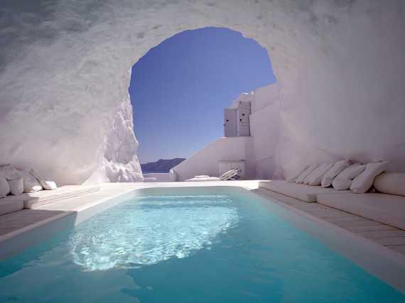 Hotel Katikies en Santorini