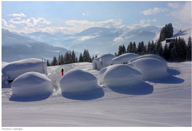 21 Alpeniglu Igloo Village en Thale, Austria