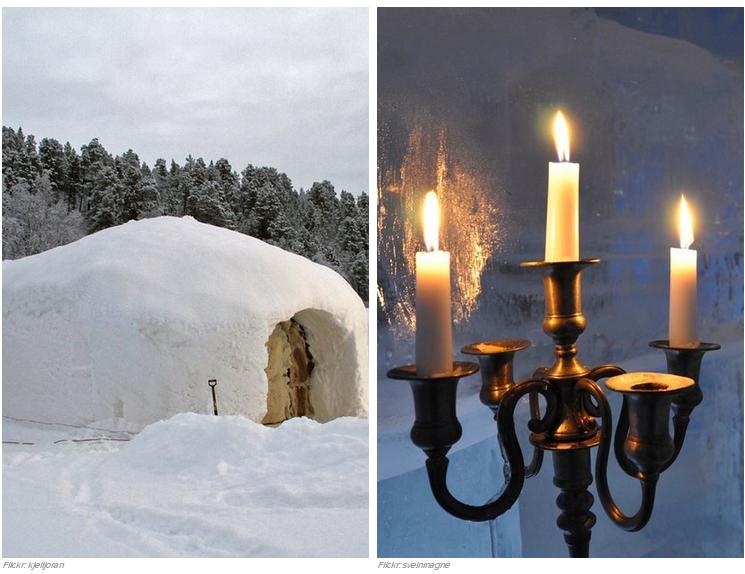 25 El Sorrisniva Igloo Hotel en Alta, Noruega