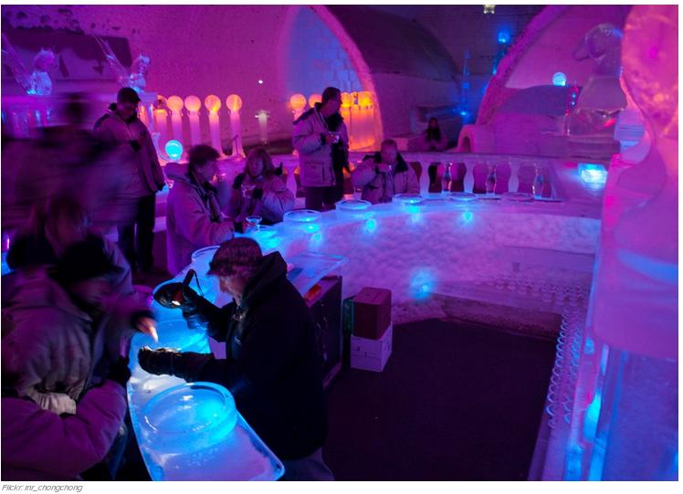 28 La Aurora Ice Museum en Fairbanks, Alaska (EE.UU.)