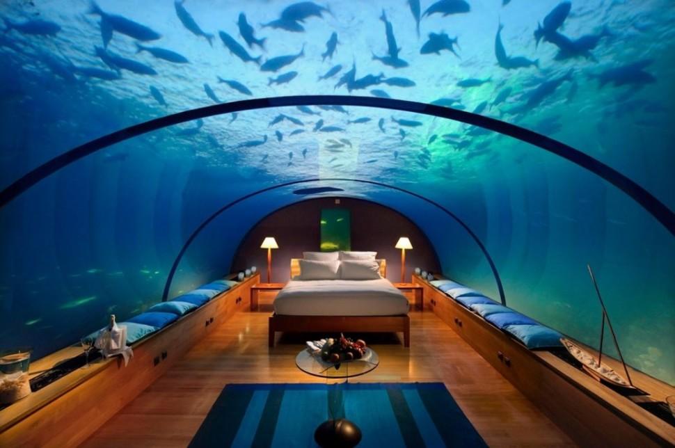 Resort Conrad Rangali Island en Maldivas
