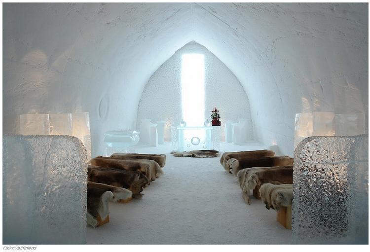 33 El SnowVillage Snow Hotel en Kittilä, Finlandia