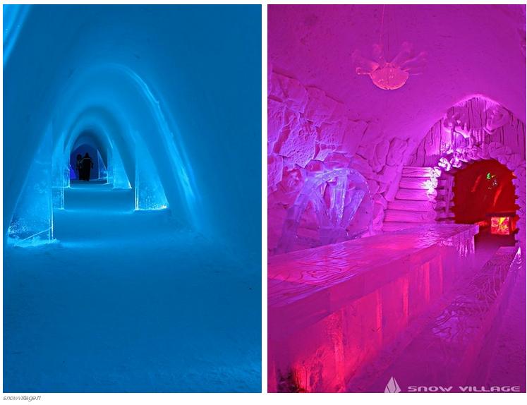 Espectaculares obras de arte hechas con hielo