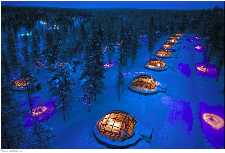 7 l Kakslauttanen Ártico Resort en Saariselkä, Finlandia