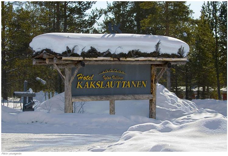 8 l Kakslauttanen Ártico Resort en Saariselkä, Finlandia