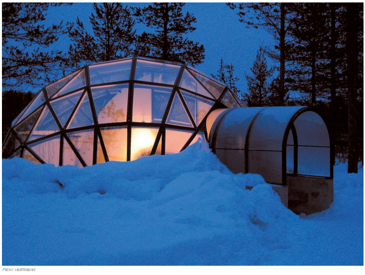 9 l Kakslauttanen Ártico Resort en Saariselkä, Finlandia