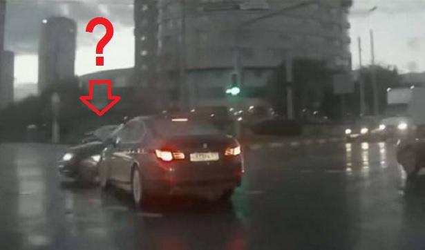 Carro fantasma en Rusia
