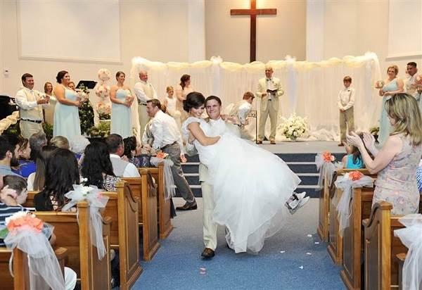 Después de trágico accidente, ésta mujer vuelve a caminar para su boda 5