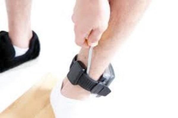 GPS-anklet