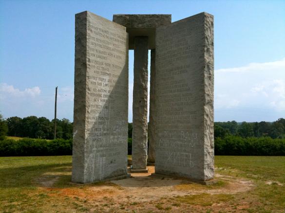 Misterios sin resolver, Georgia Guidestones