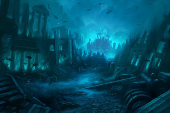 Misterios sin resolver, La Ciudad Perdida de Atlantida