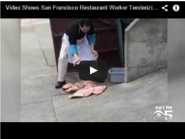 Video del restaurate chino en San Francisco