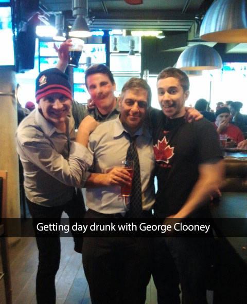 doble de george clooney