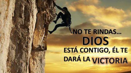 Poema Cristiano: «No Te Des Por Vencido»
