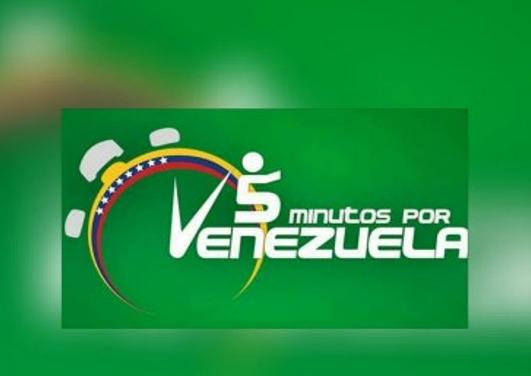CAMPAÑA DE 5 MINUTOS DE ORACIÓN POR VENEZUELA