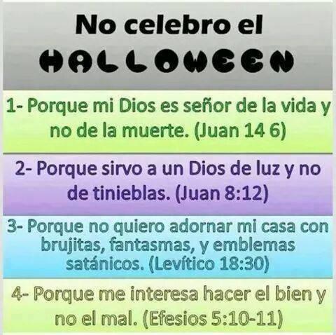 5 razones por las que un cristiano no debe celebrar el halloween